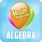 Play Math Balloons Algebra