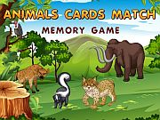 Play Animals Cards Match