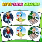 Play Cute Girls Memory