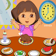 Play Dora Healthy Food
