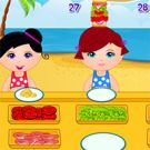 Play Kids Beach Restaurant