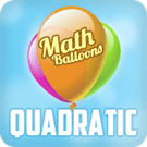 Play Math Balloons Quadratic E…