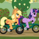 Play Little Pony Bike Racing
