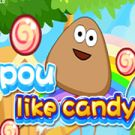 Play Pou Like Candy